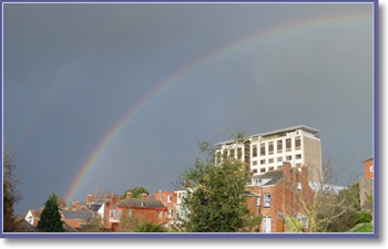Rainbow in Exeter